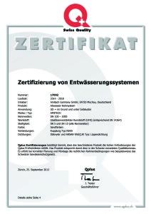 VSA Zertifikat D