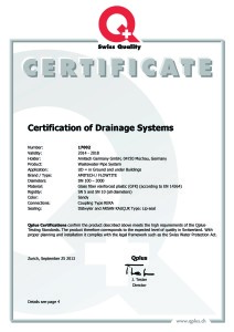VSA Zertifikat E